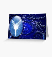 Enchanted Blue Greeting Card
