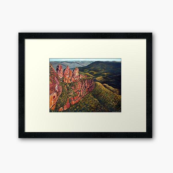 Blue Mountains, Australia Framed Art Print