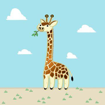 Une Girafe by davesliozis