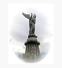 Virgen de El Panecillo IV, Quito Ecuador Photographic Print