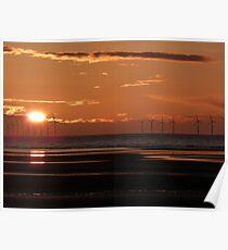 Renewable energy, everlasting light Poster