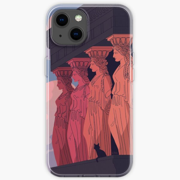 Caryatids at Dusk iPhone Soft Case