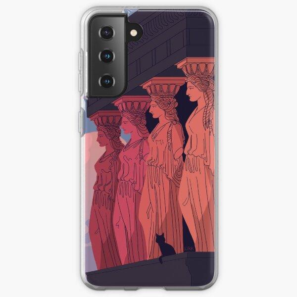 Caryatids at Dusk Samsung Galaxy Soft Case