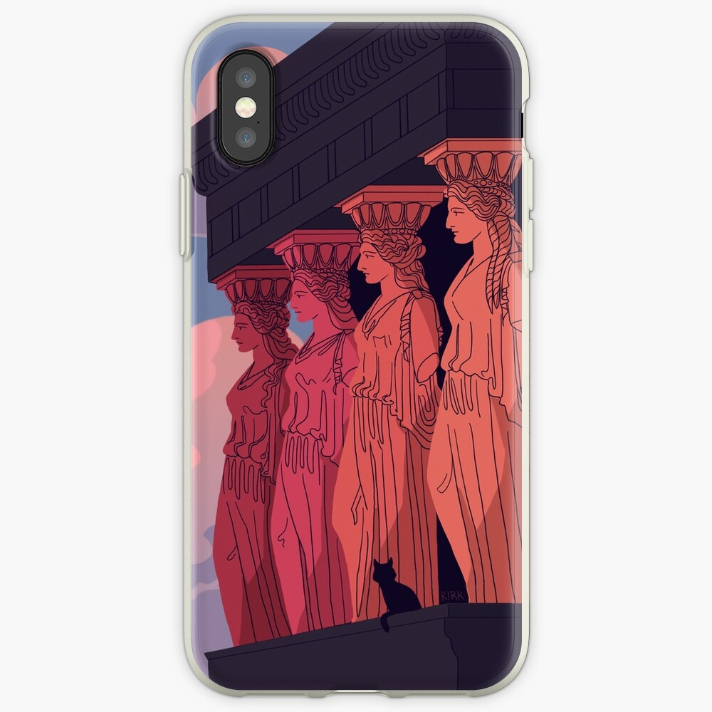 Caryatids at Dusk iPhone Case & Cover