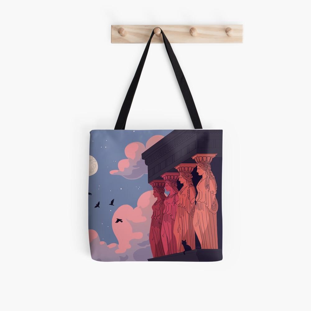 Caryatids at Dusk Tote Bag