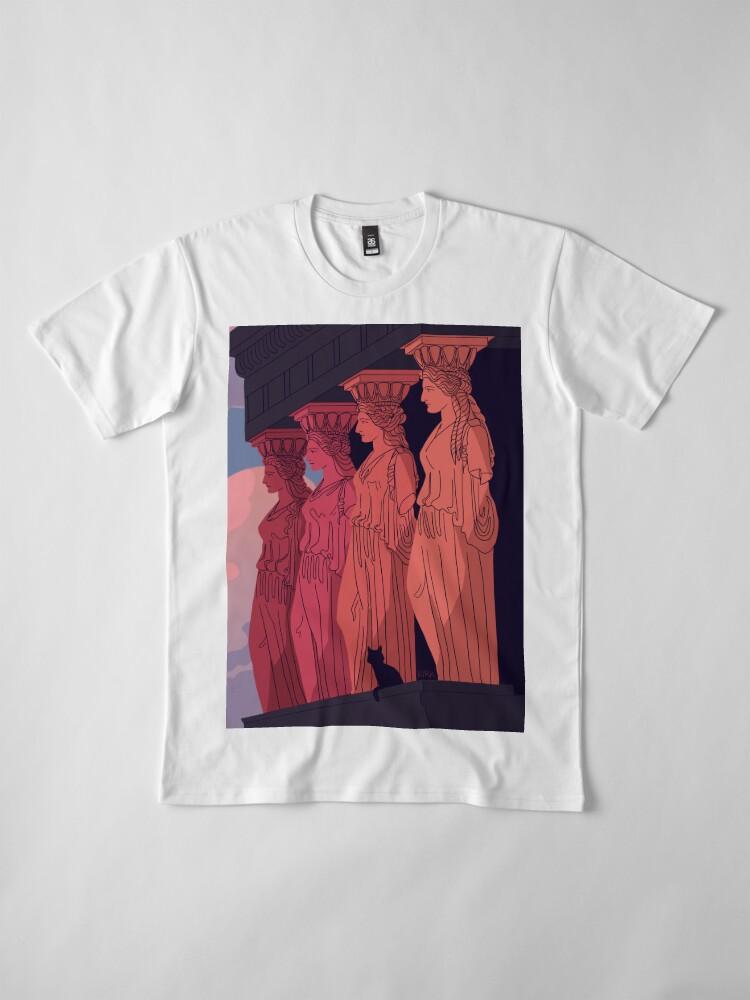 Alternate view of Caryatids at Dusk Premium T-Shirt