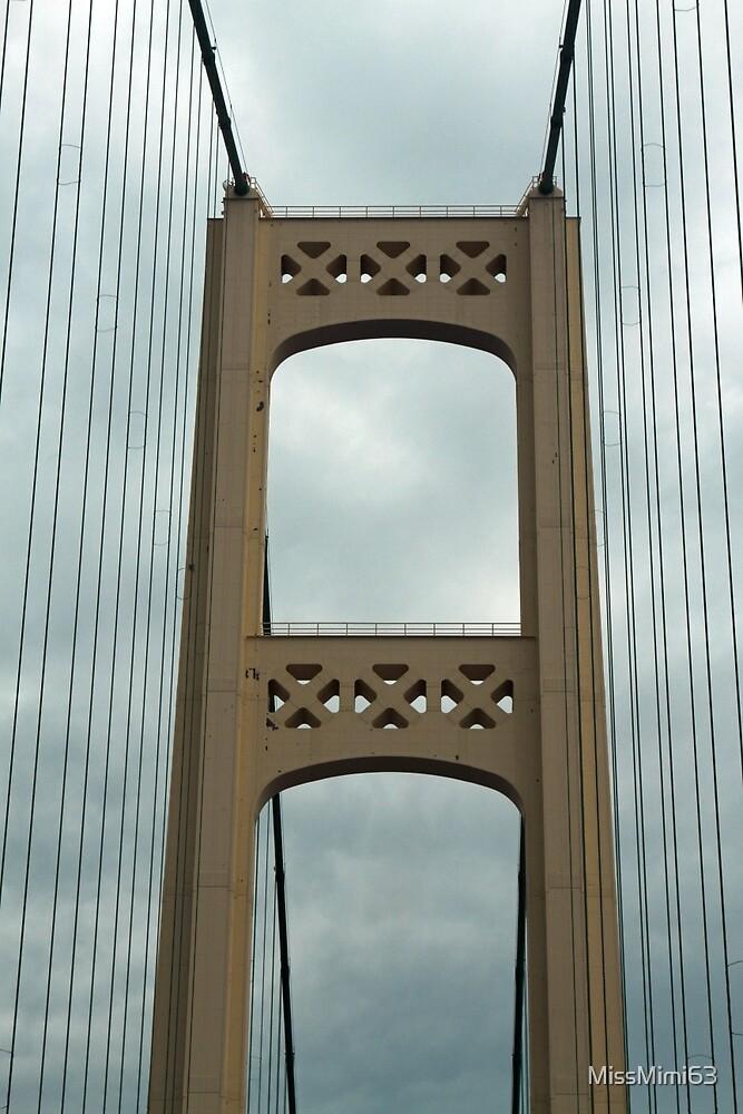 The Mackinac Bridge by MissMimi63