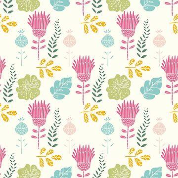 Fancy Floral Pattern by stylebytara