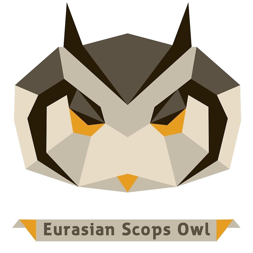 Eurasian Scops Owl by annlytical
