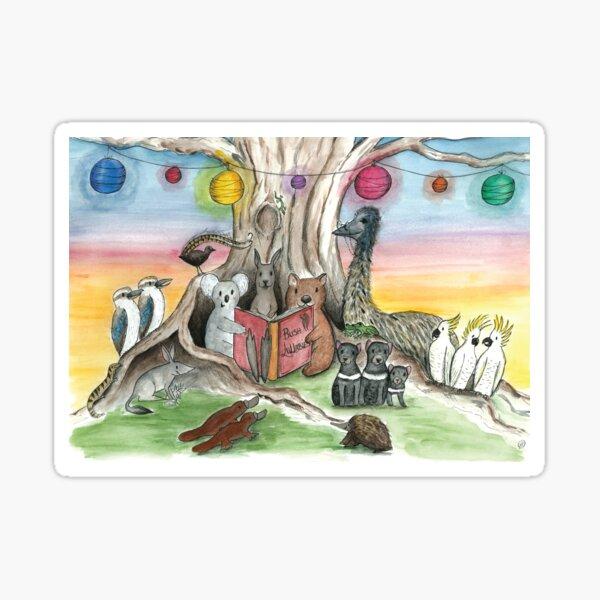 Bush Lullabies With Australian Native Animals Sticker