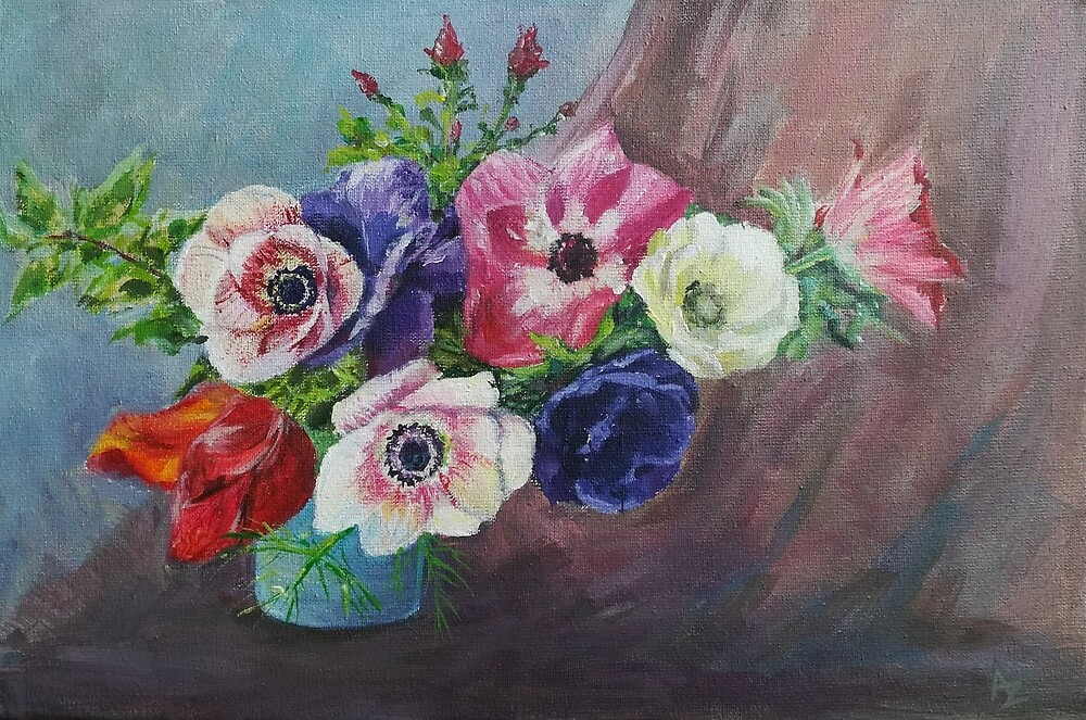 Anemones by Anthropolog
