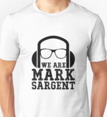 We Are Mark Sargent Slim Fit T-Shirt