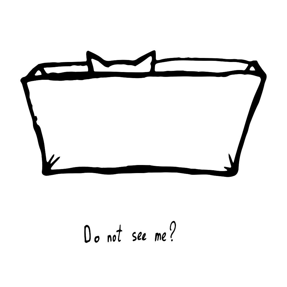 do not see me? by gausn