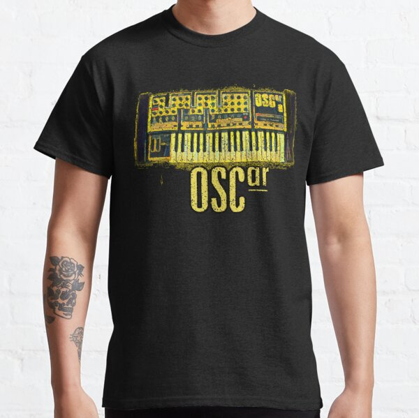 Synthesizer Legend  - Oscar Synth - Oil Paint Style Classic T-Shirt