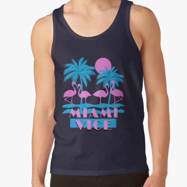Miami Vice - Flamingo Florida Tank Top
