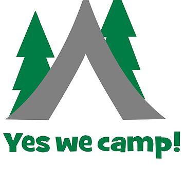 Yes we camp by Pferdefreundin