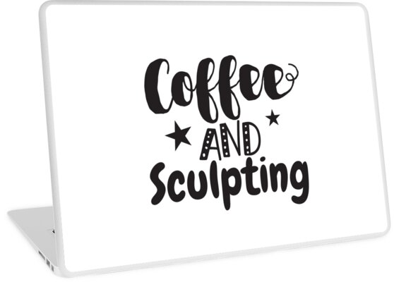 Coffee and Sculpting by jazzydevil