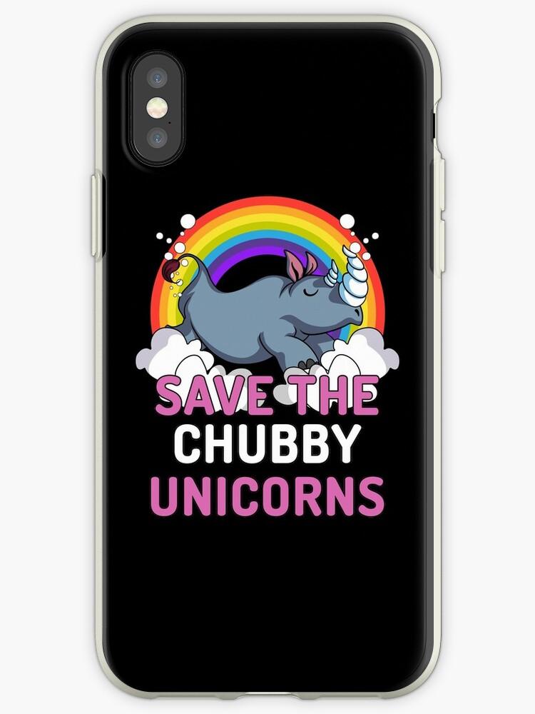 Chubby Unicorn Rhino Iphone 7 Plus Case
