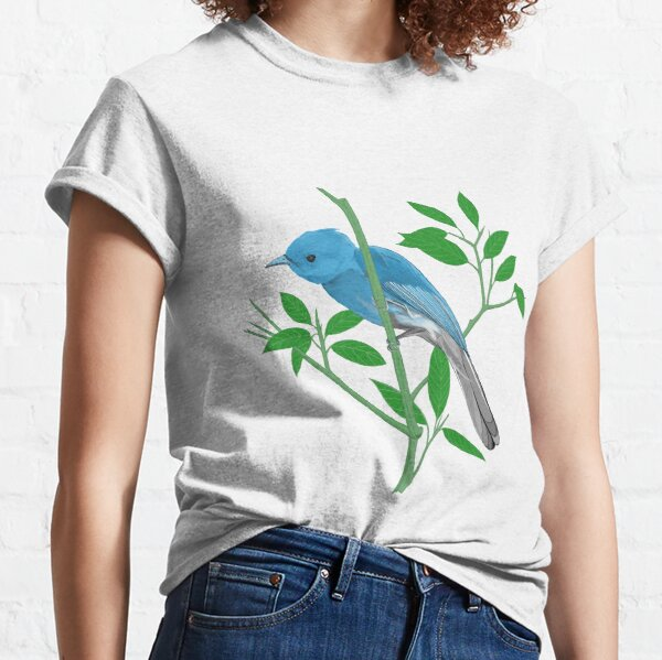 Pale Blue Monarch Classic T-Shirt