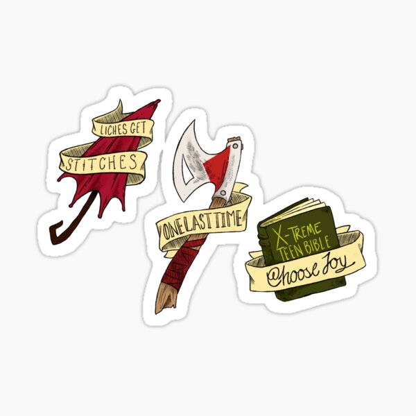 The Adventure Zone Stickerset Sticker