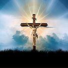 Jesus on the Cross by BigAl3D