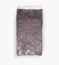 Grunge Relief Floral Abstract Duvet Cover