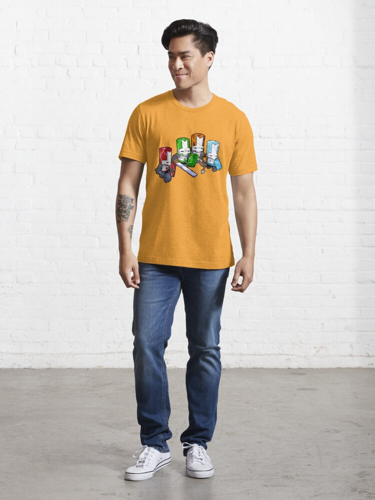 Alternate view of Castle Crashers - The Elements Essential T-Shirt