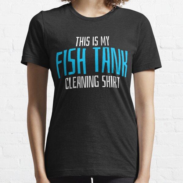 Aquarium  Aquarist Cleaning  Fish Tank Staff  Essential T-Shirt