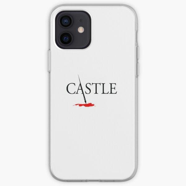 castillo Funda blanda para iPhone