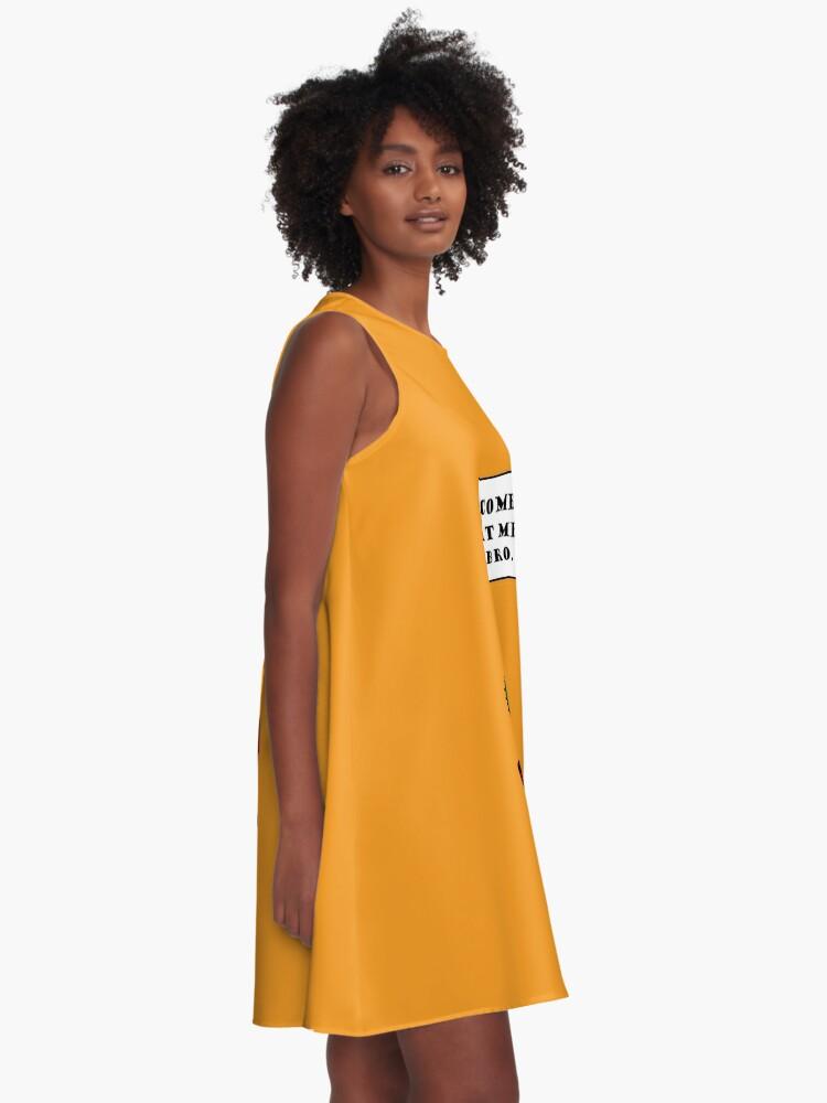 Alternative Ansicht von Komm zu mir, Bro! (Cactus Edition) A-Linien Kleid