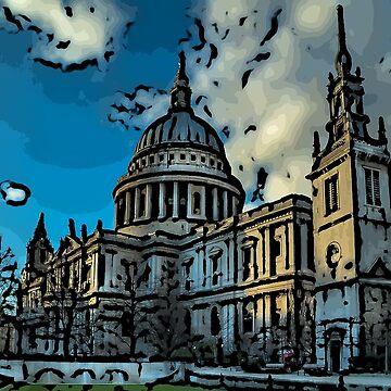 St Pauls, London by bywhacky