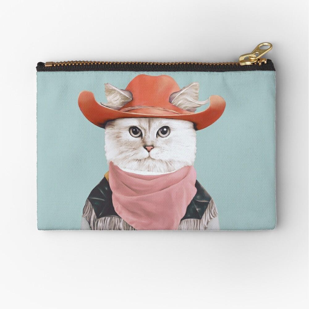 Rodeo Cat Zipper Pouch