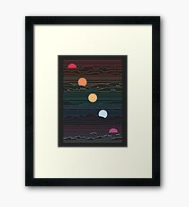 Many Lands Under One Sun Framed Print