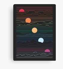 Many Lands Under One Sun Canvas Print
