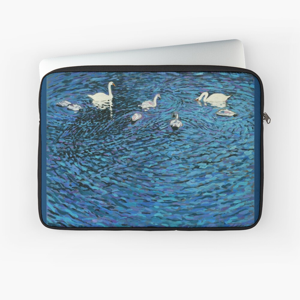 Swan Family Laptop Sleeve