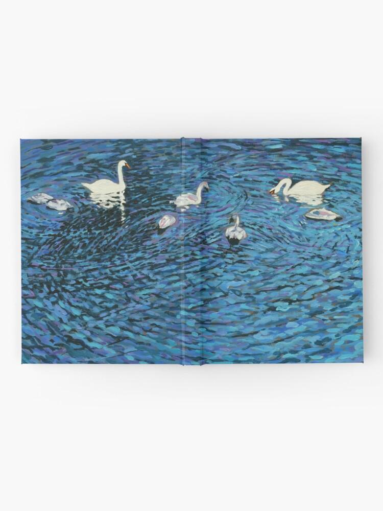 Alternate view of Swan Family Hardcover Journal