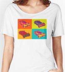 1964 Morgan Plus 4 Convertible Pop Art Women's Relaxed Fit T-Shirt