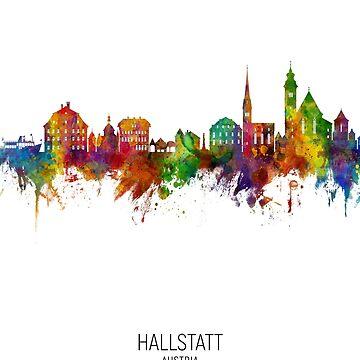 Horizonte de Hallstatt Austria de ArtPrints