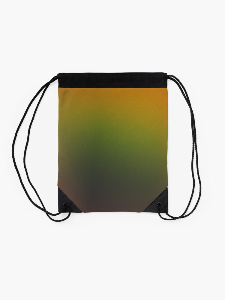 Alternate view of Rainbow ombre Drawstring Bag