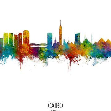 El Cairo Egipto Skyline de ArtPrints