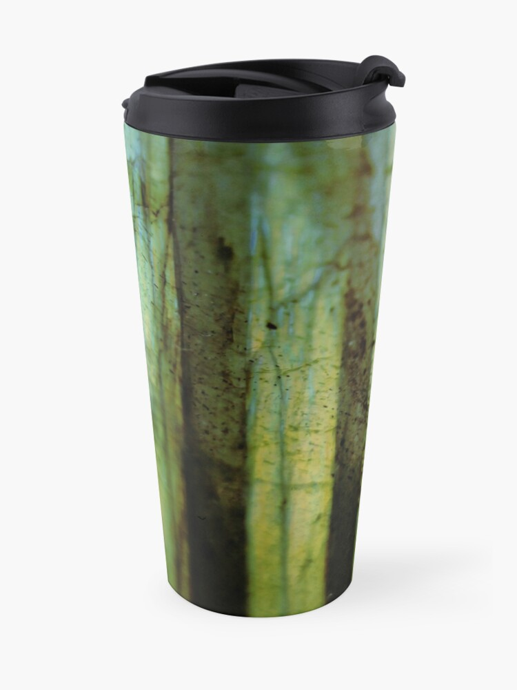 Alternate view of Labradorite geode  Travel Mug