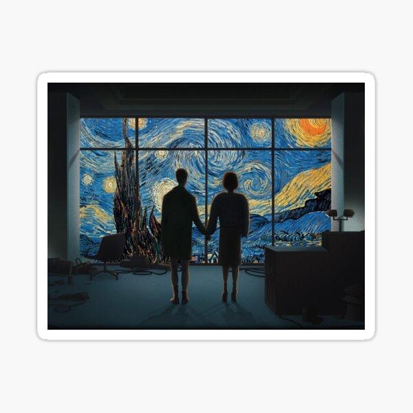 Fight Club Van Gogh Sticker