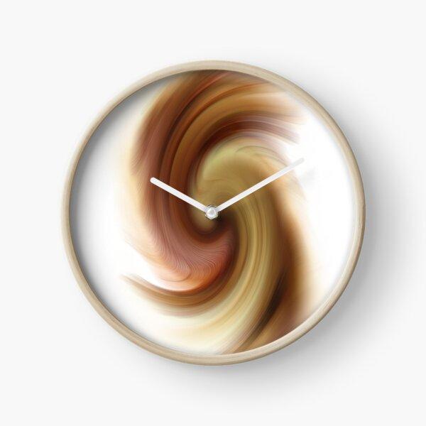 Brown Clock