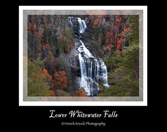Lower Whitewater Falls by KnockKnockPhoto