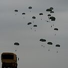 Here they come!!- Fort Bragg by Myndcrym