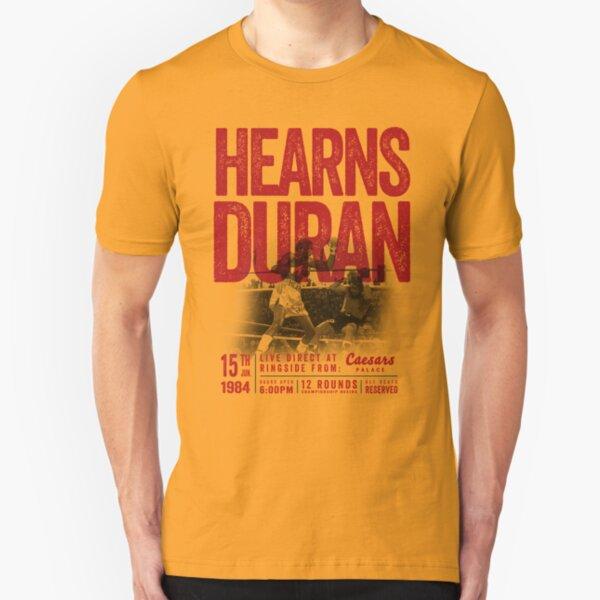 Hearns vs Duran Boxing Shirt Slim Fit T-Shirt