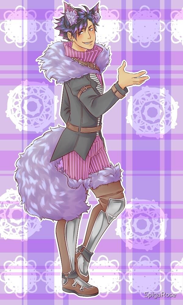 Kuroo Tetsuroo Cheshire Cat by SpigaRose