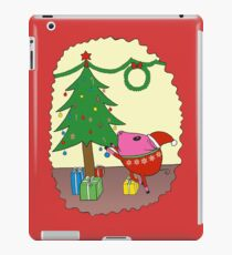 PiGgy is ready for Christmas! iPad Case/Skin