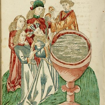 Baptism of the King (Medieval artwork) by Geekimpact