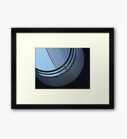 Curvilinear Framed Print